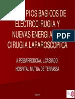 Principios Basicos de Electrocirugia y Nuevasenergiasencirugialaparoscopica