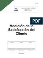 GQ-P-007 Medición de La Satisfacción Del Cliente