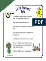 Little Tawheed Talk