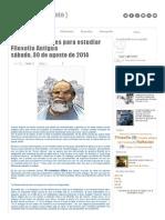 10 Consejos Útiles Para Estudiar Filosofía Antigua _ { Filosofete Argento }