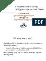 gyroscopeaccelerometer