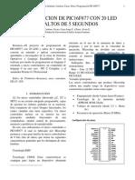 Articulo Programacion Pic16f877 Con 20 Led