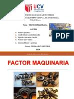 Ppt de Factor de Maquinaria 1