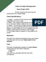 PM Team Project - Bridge.doc