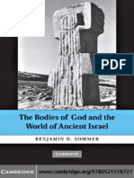 Sommer, Benjamin D. the Bodies of God and the World of Ancient Israel