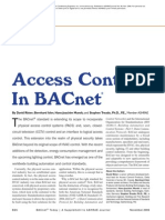 Access Control in BACnet