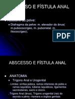 Abcesso e Fístula Anais