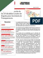 Informe Contratacion Alcaldias Locales Bogota