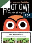 Hoot Owl by Sean Taylor Activity Sheet