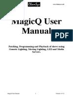 Manual MagicQ