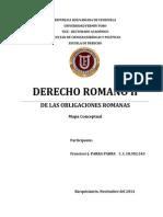 OBLIGACIONES ROMANAS.- Francisco José PARRA PARRA
