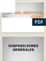 Ley Servicio Civil