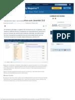 Gestión de Formularios Con Joomla! 3.0
