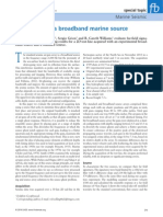 Evaluation of a Broadband Marine Source