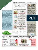 Customer Newsletter #1 2015