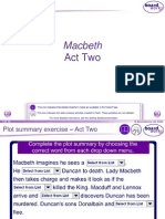 macbeth - act 2 powerpoint