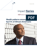 Wealth patterns among the top 5% of African-Americans