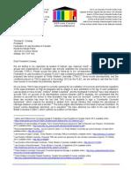 Letter to FLSC on TWU