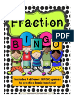 fraction bingo game preview