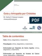 Gota y Artropatía Por Cristales