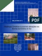 Mudanças Climáticas e Possiveis Alterações No Biomas Da America Do Sul