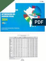 EVALUACIÓN DE METAS  VINCULADAS A LA OPTIMIZACIÓN   DEL SERVICIO FISCAL