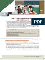 OCDE Reporte TALIS 2013 Liderança