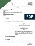 Carreiras Jurídicas Damasio Administrativo  Administrativo CSpitzcovsky 6-30-08-2013 Macellaro