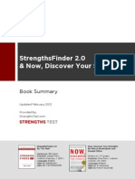 StrengthsFinder Book Summary
