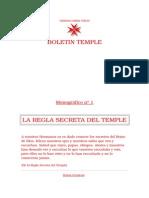 La Regla Secreta Del Temple