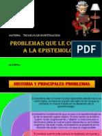 Problemas Que Le Competen a La Epistemologia