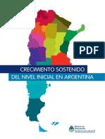 Min. Educación-UNICEF - Crecimiento Sostenido Del Nivel Inicial en Argentina (2001-2013)