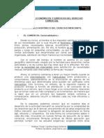 Desarrollo Histórico Del Derecho Mercantil y Fuentes Del Derecho Comercial