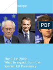 Spanish EU Presidency - What To Expect