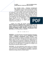 Inscripcion de Acta de MATRIMONIO