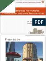 Terapia Hormonal en Menores Transexuales_Dr. J Guerrero