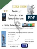Certificado Fenixtech Antenas Ubiquiti