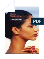 L'Interdite Malika Mokeddem