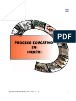 Proceso Educativo Incupo