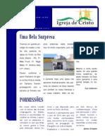 Newsletter Igreja de Cristo em Campina Grande - Dezembro a Janeiro