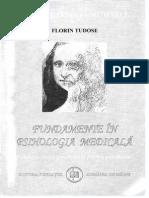 Florin Tudose - Fundamente in Psihologia Medicala