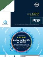 LEAF 2012 Owner Manual