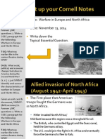 WEBNotes - Day 6 - 2014 - Europe and Africa - WWII