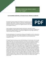 Las Externalidades Ambientales y El Teorema de Coase Reflexiones a Su Aplicación