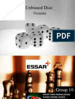 Unbiased Dice