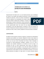Proyeccto de Inversion