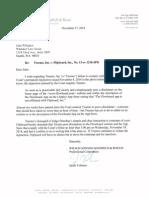 Flipboard Threatening Letter to Flowboard