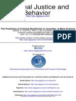 Criminal Justice and Behavior 2001 COTTLE 367 94