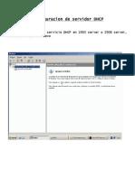 Configuracion de Servidor DHCP TFTP CFG