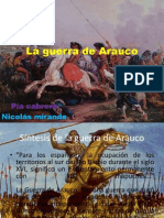 La Guerra de Arauco Historia